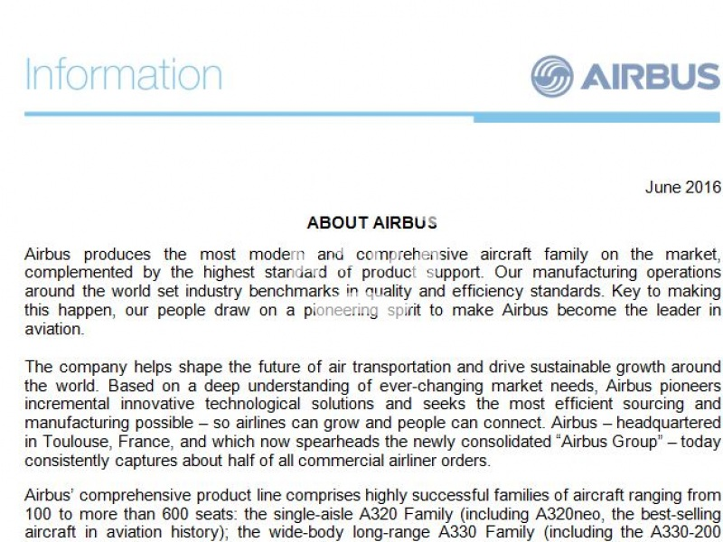 About Airbus