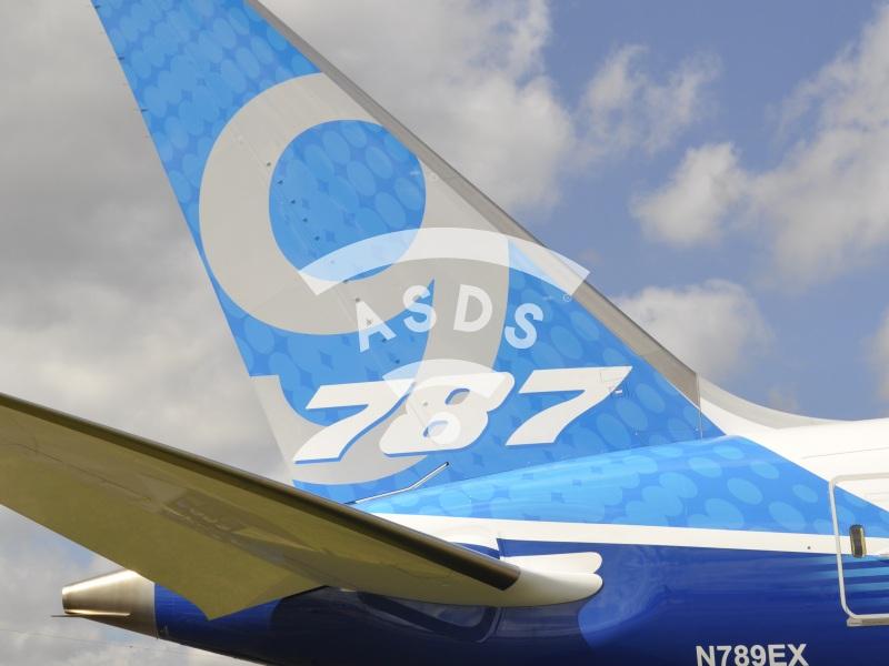 Boeing 787-900 at Farnborough 2014
