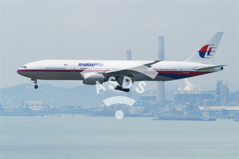 Boeing 777 of Malaysia Airlines