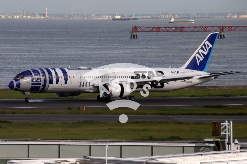 Star Wars Boeing 777 of ANA