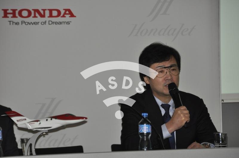 Michimasa Fujino  , President and CEO of Honda Aircraft