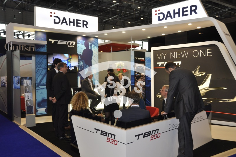 Daher stand at EBACE