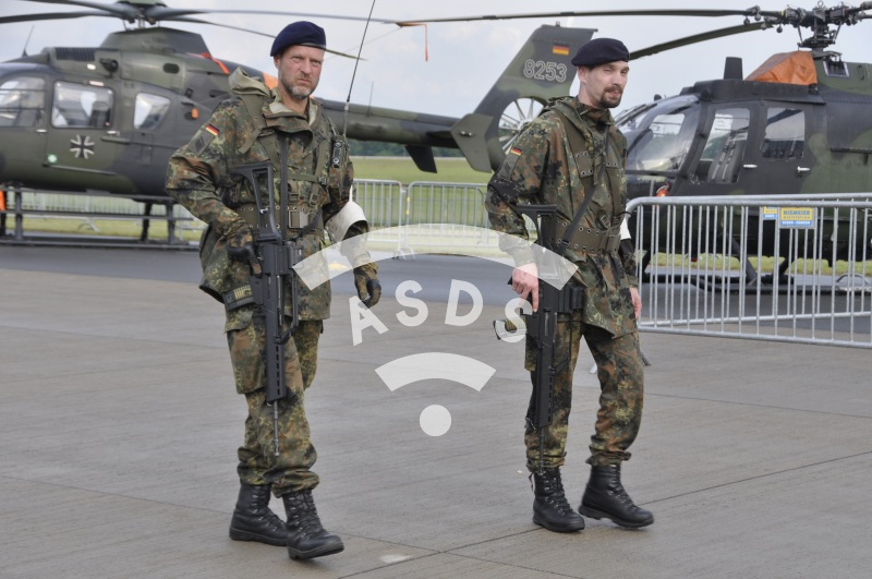 German Special Forces at ILA
