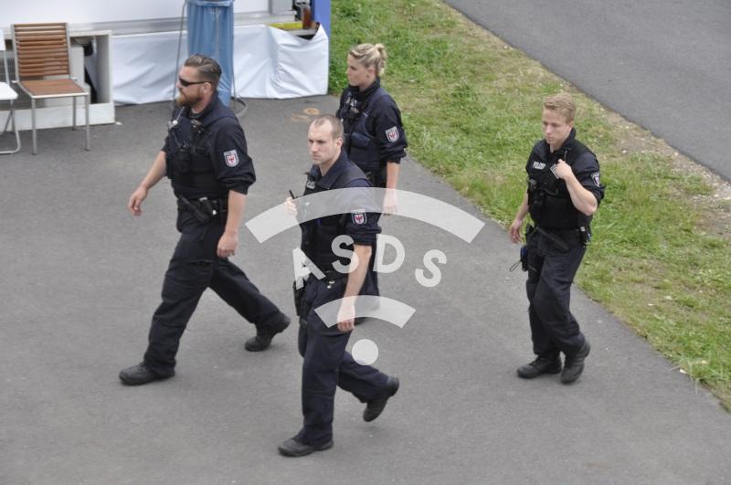 German Police in Berlin