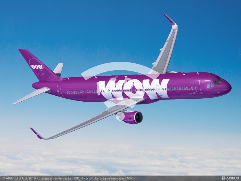 WOW air orders four A321s