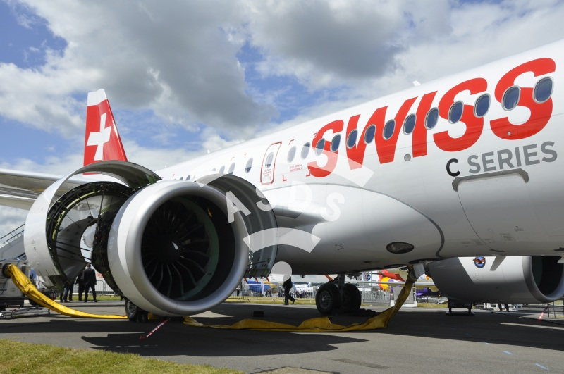 Bombardier C Series 100 for Swiss