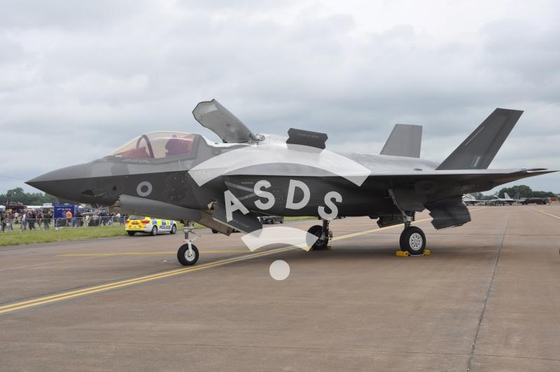 F-35B of the RAF