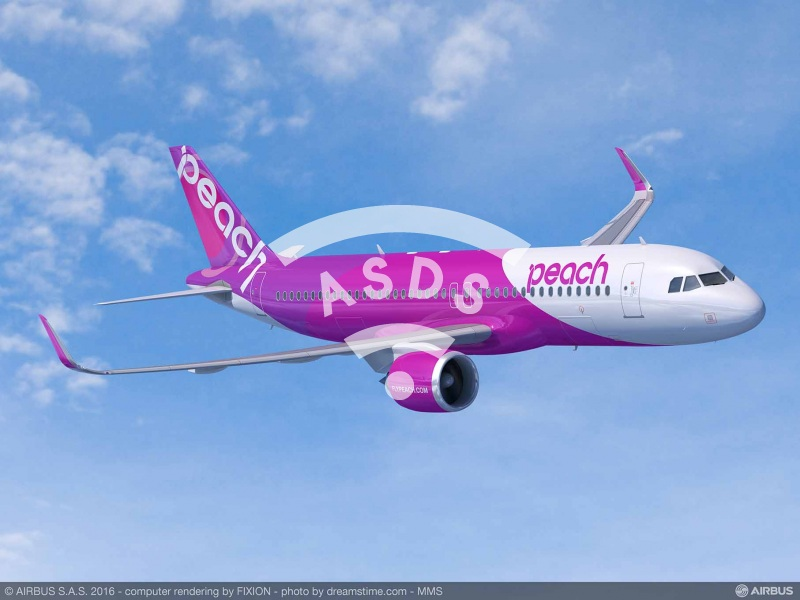 A320neo for Peach Aviation