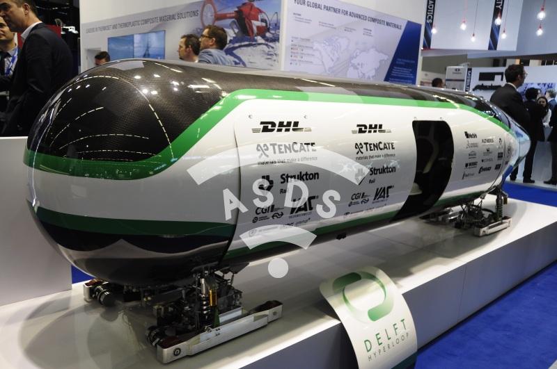 Delf Hyperloop pod