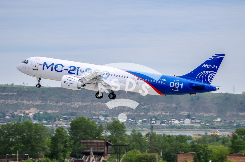 Russian MC-21 first flight