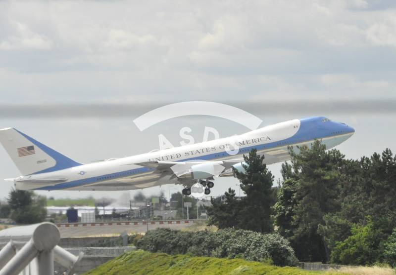 Air Force One at Orly airport