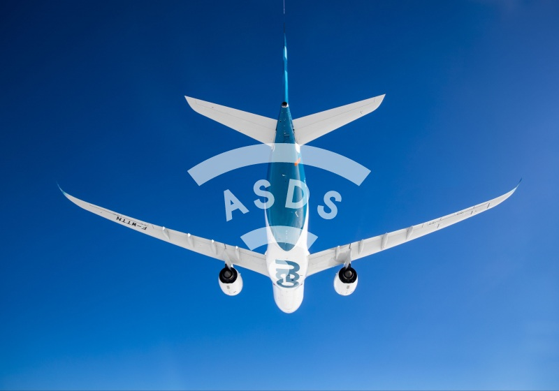 A330neo in flight
