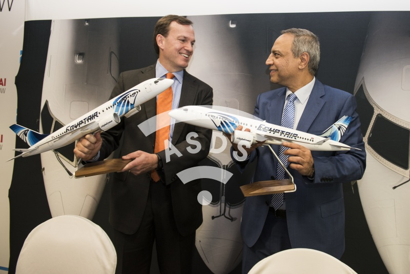 Fred Cromer, Bombardier, and Safwat Musallam, EgyptAir order