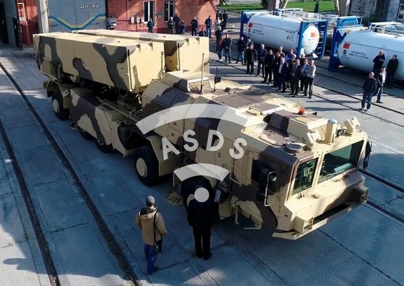 Hrim-2 Ukranian ballistic missile