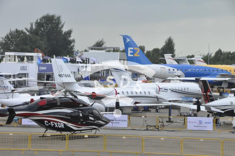 Singapore Airshow 2018 Static display