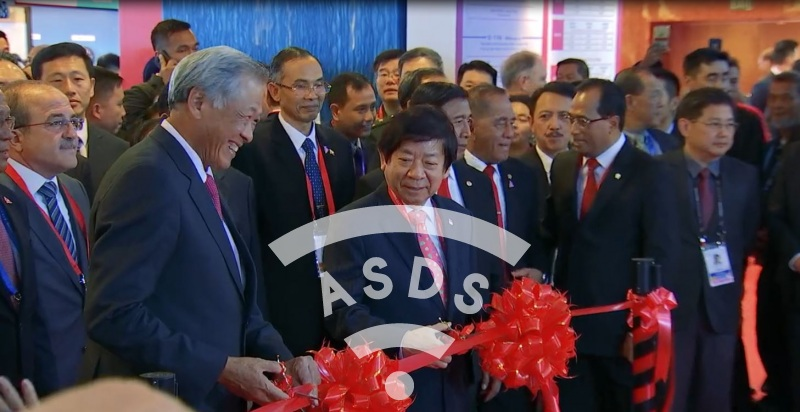 Singapore Airshow 2018 Ribbon cutting Ceremony