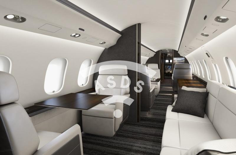 Bombardier Premier Cabin interior