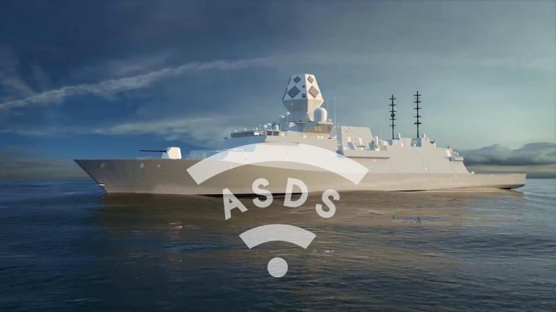 BAe Type 26 frigate for Australia