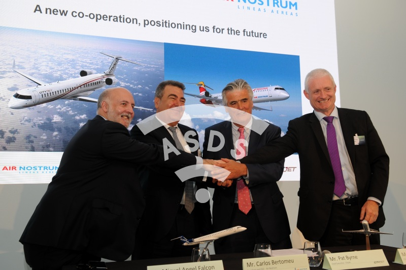 Air Nostrum and CityJet join forces