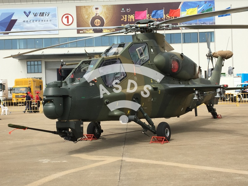 Z-10K Chinese combat helicopter