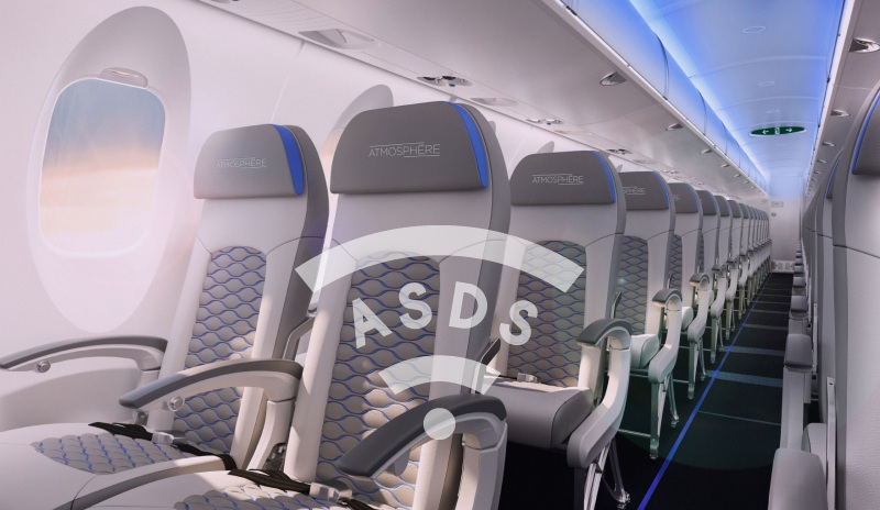 Bombardier CRJSeries Atmosphère Cabin